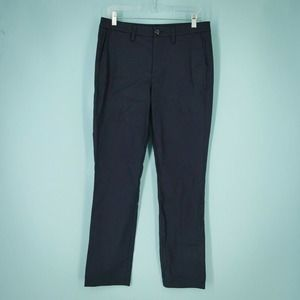 1901 Size 6 Navy Blue Chino Ankle Pants NWOT